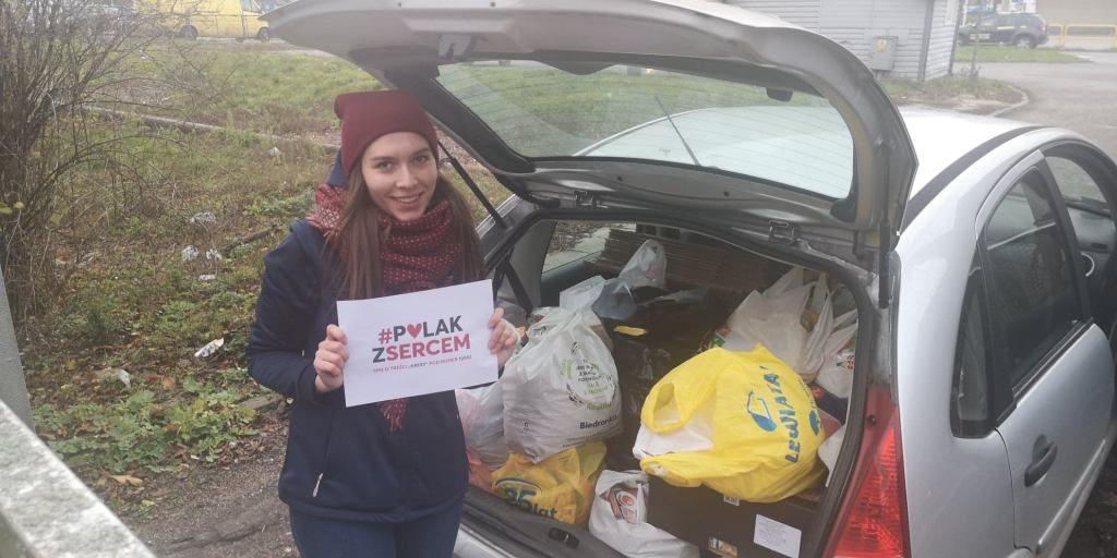 "Zdjęcia zezbiórki ""Polak zsercem"" - diecezja toruńska"