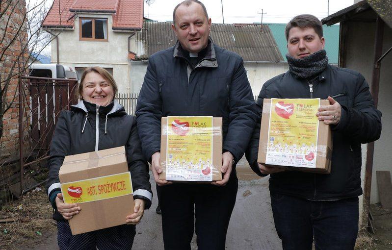 """Wizyta naUkrainie wramach akcji """"Polak zsercem"""""""