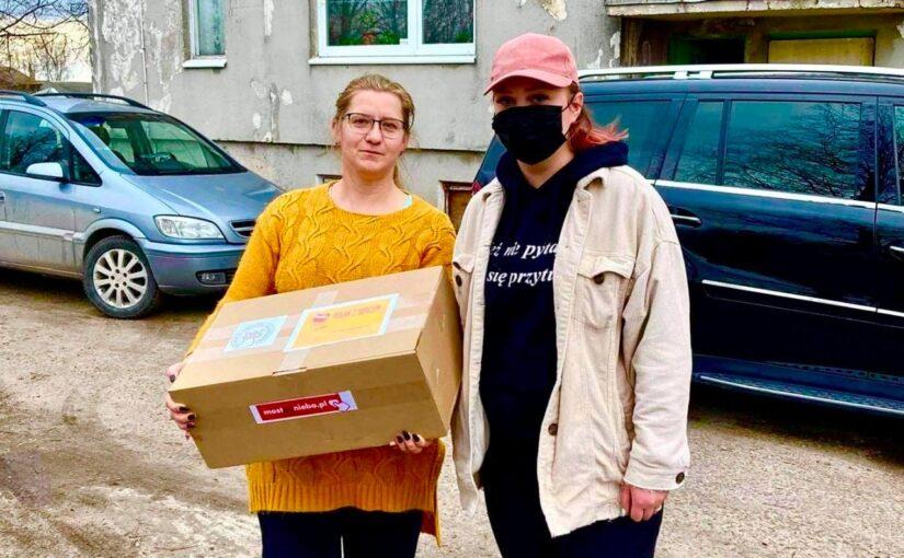 Polak zsercem: przedWielkanocą dary trafiły naLitwę